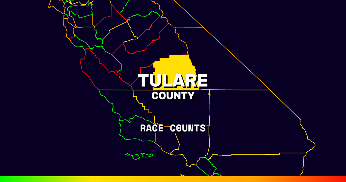 Tulare Zip Code Map.Tulare